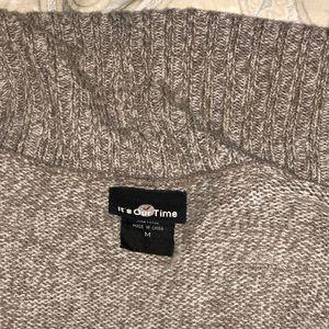 Sweaters - Tan and cream sweater